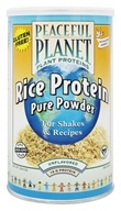Peaceful Planet Rice Protein Pure Powder