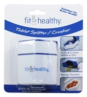 Fit & Healthy Tablet Pill Splitter And Crusher