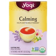 Calming Tea with Organic Chamomile Caffeine Free