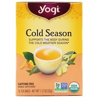 Cold Season Organic Caffeine Free Tea