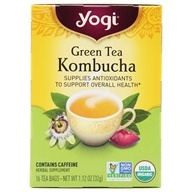 Green Tea Kombucha with Organic Green Tea