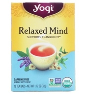Relaxed Mind Tea with Organic Sage