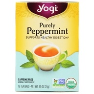 Purely Peppermint Organic Tea Caffeine Free