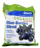 Herbalozenge Organic Blue-Berries Blend with Zinc & Vitamin C