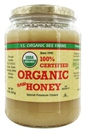 YS Organic Bee Farms - Certified Organic Honey 100% - 2 lbs.