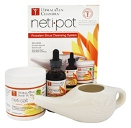 Neti Pot Complete Sinus Cleansing System Starter Kit