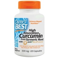 Doctor's Best - Best Curcumin C3 Complex With BioPerine 500 mg. - 120 Capsules /LUCKY PRICE