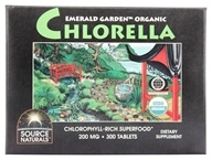 Emerald Garden Organic Chlorella Chlorophyll-Rich Superfood Box