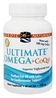 Ultimate Omega Purified Fish Oil Plus CoQ10