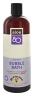 Aloe 80 Organics Bubble Bath