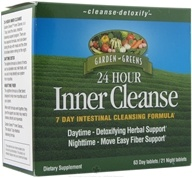 Inner Cleanse 24 Hour 7 Day Intestinal Cleansing Formula