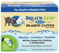 Breath-Less Fizzy Plaque-Zapper for Small to Medium Pets
