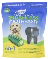 Breath-Less Chewable Brushless-Toothpaste for Medium to Large Dogs