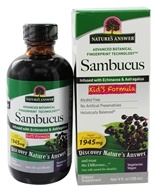 Sambucus Black Elder Berry Extract Kids Formula