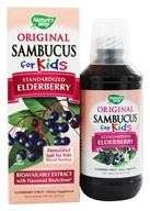 Sambucus For Kids Bio-Certified Elderberry, Echinacea, & Propolis Syrup