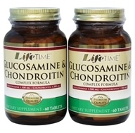 Glucosamine 1500 mg & Chondroitin 1200 mg Complex Formula (60+60) Twin Pack
