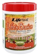Life's Basics Plant Protein Powder with 5 Fruit Blend