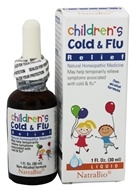 NatraBio - Childrens Cold and Flu Relief - 1 oz.