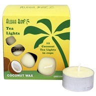 100% Vegetable Palm Wax Tea Light Candles