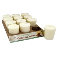 Votive Candle Unscented White