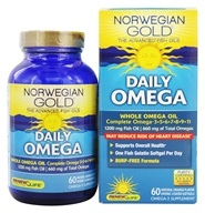 Norwegian Gold Ultimate Fish Oil Daily Omega