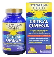 Norwegian Gold Ultimate Fish Oil Critical Omega