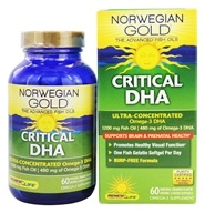 Norwegian Gold Ultimate Fish Oil Critical DHA