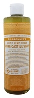 Dr. Bronners - Magic Pure-Castile Soap Organic Citrus Orange - 16 oz.
