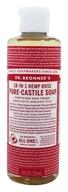Dr. Bronners - Magic Pure-Castile Soap Organic Rose - 8 oz.