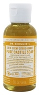 Dr. Bronners - Magic Pure-Castile Soap Organic Citrus Orange - 2 oz.