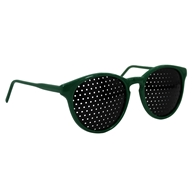 Pinhole Glasses Kids Green