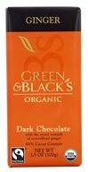 Ginger Dark Chocolate Bar 60% Cacao