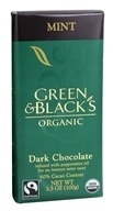 Mint Dark Chocolate Bar 60% Cocoa