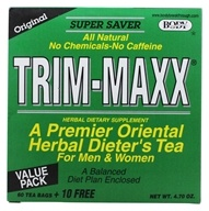 Trim-Maxx Herbal Dieter's Tea for Men and Women