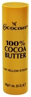 100% Cocoa Butter Yellow Stick