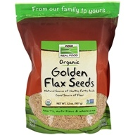 Certified Organic Golden Flax Seeds