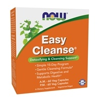 NOW Foods - Easy Cleanse Detoxifying & Cleansing Support Kit