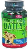 Green Dog Naturals - Whole Dog Daily Natural Chicken Flavor - 60 Chewable Tablets