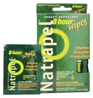 Deet-Free 8-Hour Insect Repellent Wipes