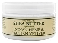 Shea Butter Infused With Indian Hemp & Haitian Vetiver