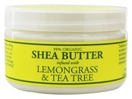 Shea Butter Infused With Lemongrass & Tea Tree