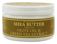 Shea Butter Infused With Olive Oil & Green Tea Extract