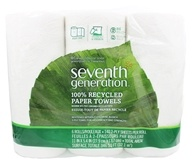 Paper Towels 100% Recycled White 2-Ply 140 Sheets
