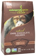 Dark Chocolate Squares Bite Size Bars 72% Cocoa
