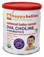 HappyBellies Organic Oatmeal Cereal