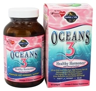 Oceans 3 Healthy Hormones with OmegaXanthin