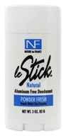 Le Stick Natural Aluminum Free Deodorant Powder Fresh