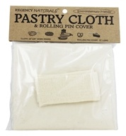 "Pastry Cloth & Rolling Pin Cover 24""x20"""