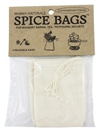 Reusable Spice Bags 100% Natural Cotton