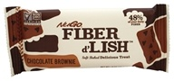 Gnu Foods - Flavor & Fiber Bars Chocolate Brownie - 1.6 oz.